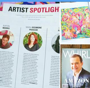 Featured in Whirl Magazine ~  See In the Media page