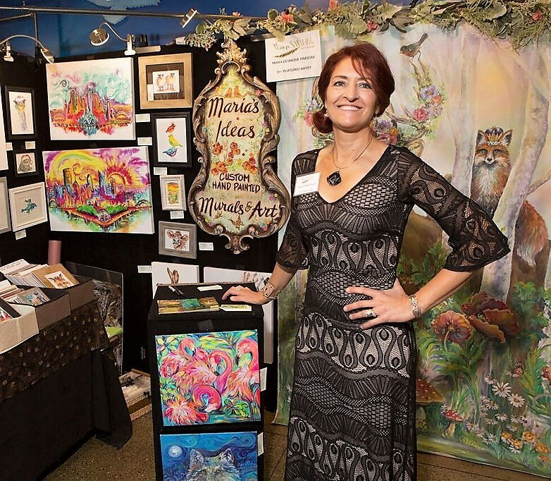 Featured artist  Wings & Wildlife Art Show National Aviary 2017