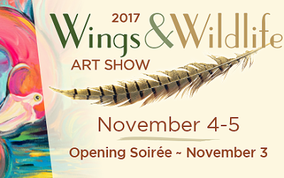 Featured artist for National Aviary Art show