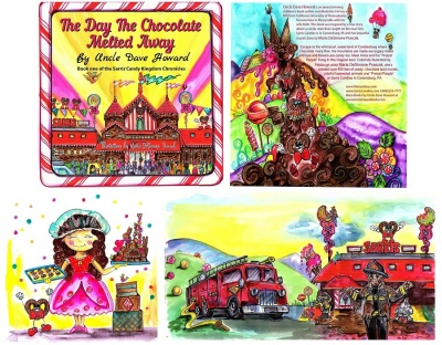 Sarris Candies Book, Illustrated by Maria