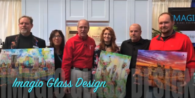 Maria's ART on GLASS! www.ImagioGlassDesign.com